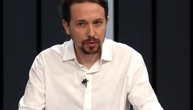 Iglesias se centra en 'su rival' Rajoy e ignora a Sánchez