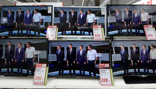 Los líderes dedican su 'minuto de oro' final a tratar de convencer a los españoles