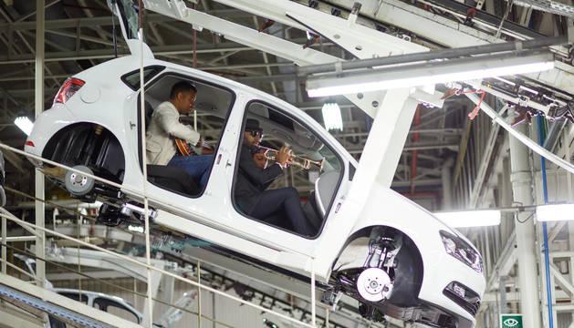 Volkswagen Navarra, escenario de la grabación del anuncio del nuevo Polo Beats
