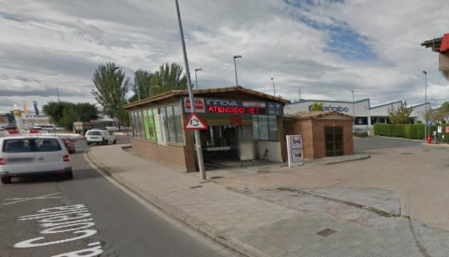 Explosión en una gasolinera de Tudela, sin heridos y con pocos daños materiales