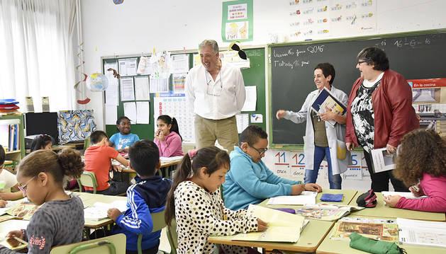 Asiron visita a los alumnos del CP San Jorge