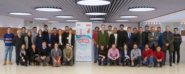 Participantes en los proyectos emprendedores en la Universidad de Navarra
