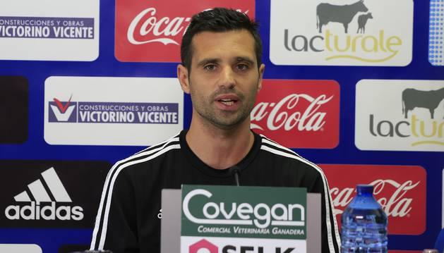 Miguel Flaño, en rueda de prensa.