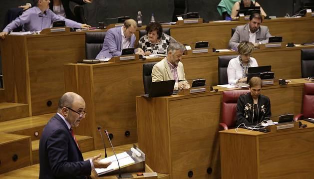 Sesión del Parlamento de este jueves.