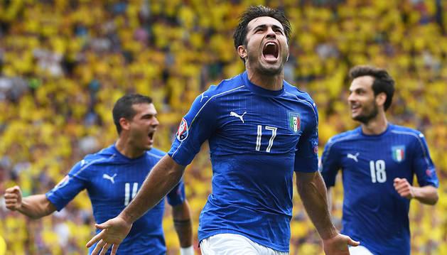 El 'catenaccio' da una nueva victoria a Italia (1-0)
