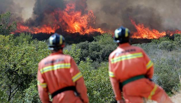 Un nuevo incendio en Les Valls se suma a los tres declarados en Valencia