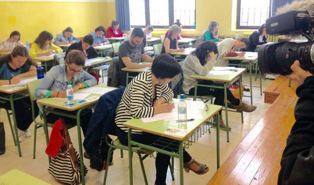 Comienzan las pruebas en castellano de las oposiciones de Educación