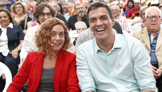 Sánchez reconocerá a Cataluña los derechos históricos negados por Rajoy