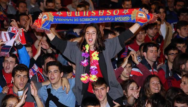 Osasuna consigue el ascenso a Primera división tras pasar las eliminatorias contra Nastic y Girona