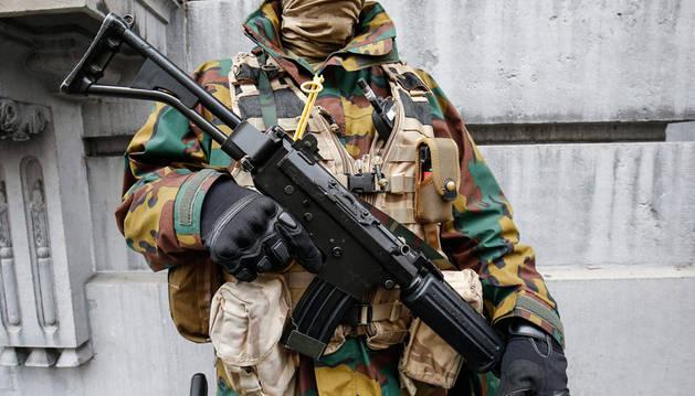 Imputados por terrorismo tres de los doce detenidos en Bélgica