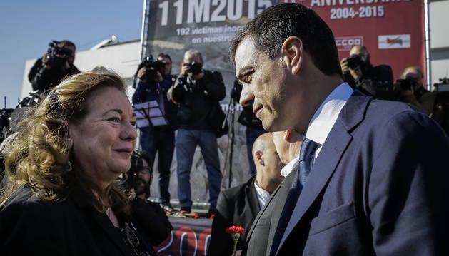 Pilar Majón deja la presidencia de la asociación 11-M