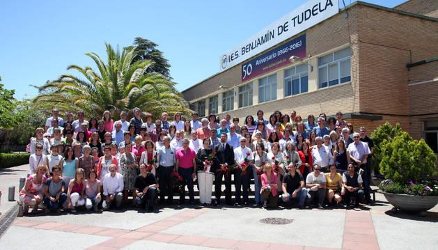 El Instituto Benjamín de Tudela celebra sus 50 años de historia