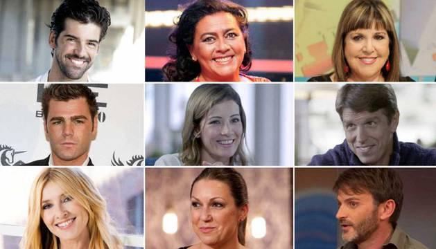 Participantes en 'MastercChef Celebrity'.