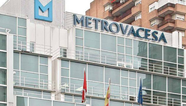 Sede central de la Inmobiliaria Metrovacesa.