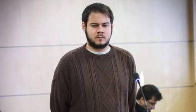 Pablo Hasel, en la Audiencia Nacional.