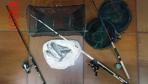 Denunciados 4 pescadores en los ríos Ega y Aragón por infringir la normativa