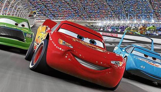 Escena de la película 'Cars'.