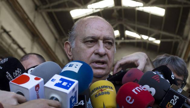 Fernández Díaz se siente víctima de una grabación publicada