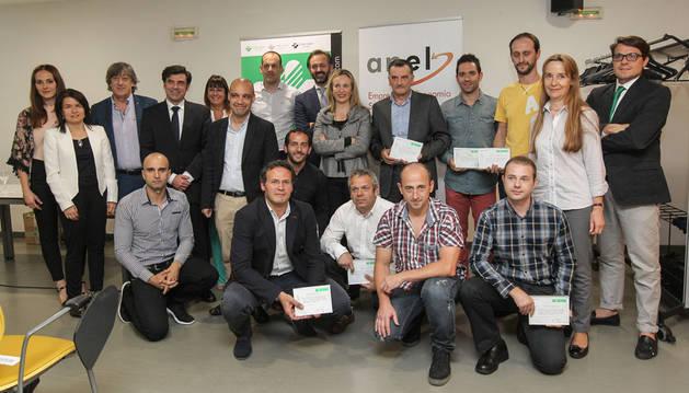 Asistentes a la jornada Empresas Saludables organizada por Fraternidad-Muprespa y ANEL