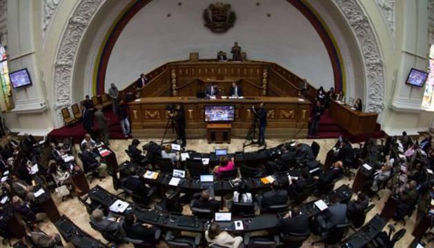 Pleno de la Asamblea Nacional de Venezuela.
