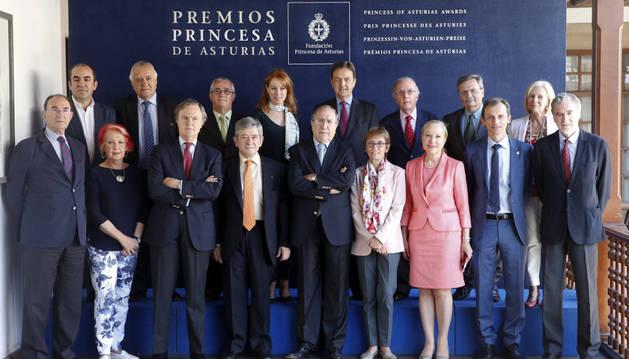 El jurado del Premio Princesa de Asturias de Cooperación Internacional 2016.