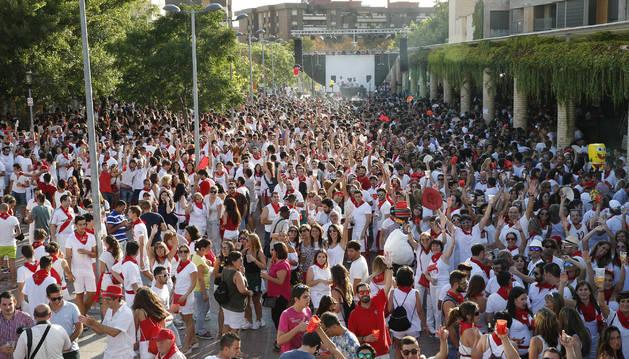 La fiesta de Dj's de los jóvenes se traslada al paseo de los Poetas