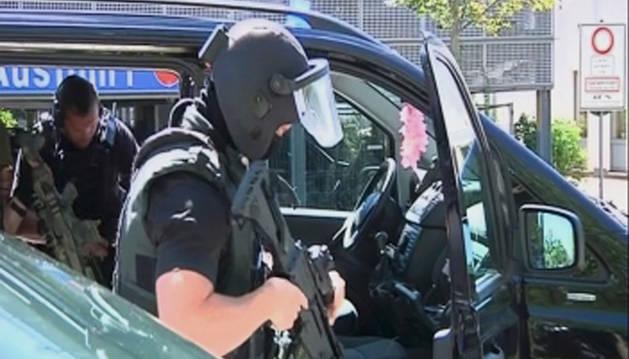La Policía mata al autor del tiroteo en unos cines cerca de Viernheim