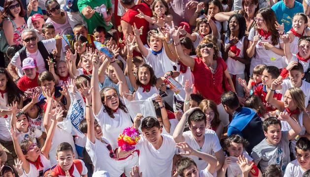 Fiestas grandes para txikis de Barañáin
