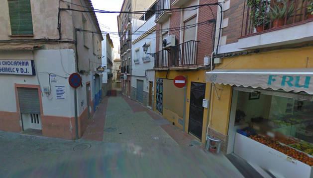 Calle Jerez, en Lorca (Murcia).