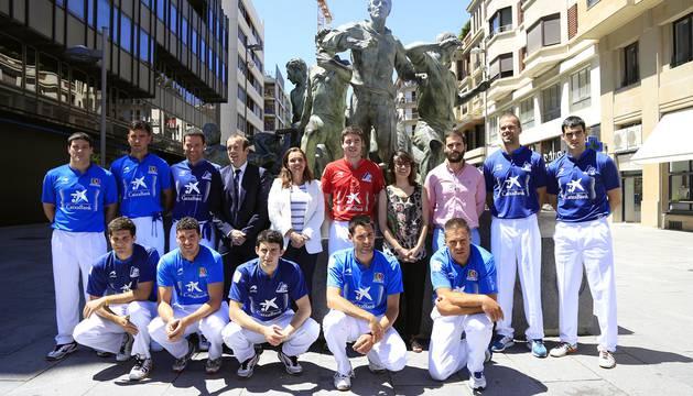 Cuadro de participantes en el Torneo Parejas San Fermín.