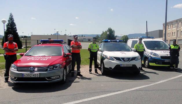 Más de 200 controles preventivos velarán por la seguridad vial en San Fermín