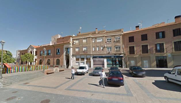 Plaza de la Diputación, en Sesma.