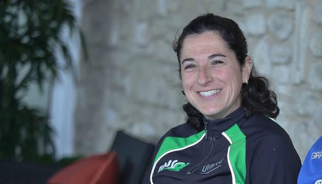 La atleta Vanesa Pacha.