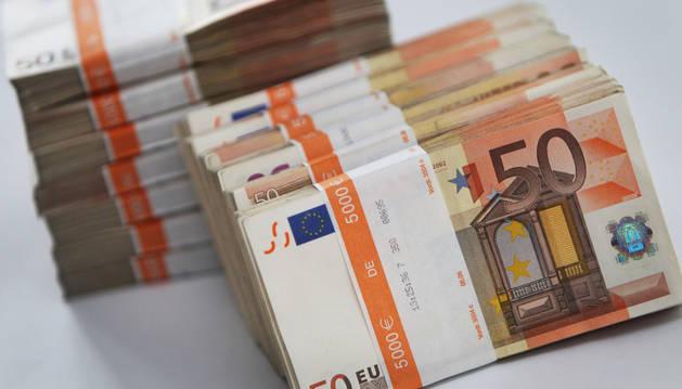 Billetes de 50 euros.