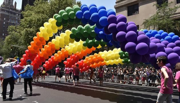 Día Internacional del Orgullo Gay en diferentes ciudades del mundo