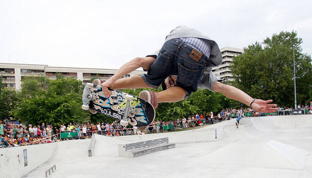 Exhibición de skate en Antoniutti.