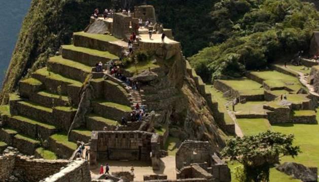 Vista del Machu Picchu, Perú.