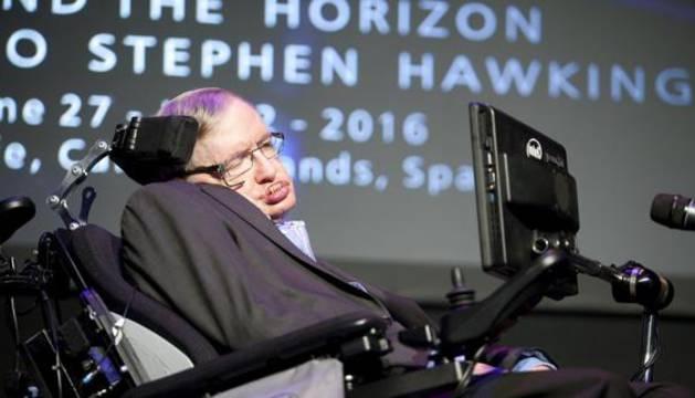 El físico británico Stephen Hawking.
