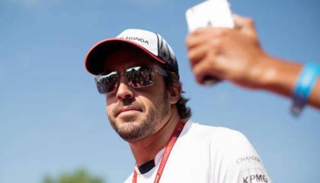 Fernando Alonso, en Austria.