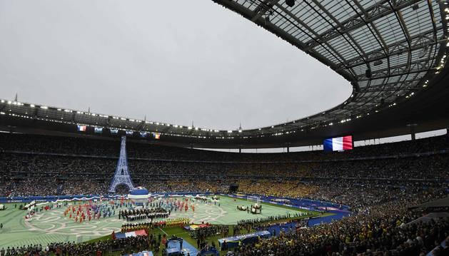 Vista del Stade de France en un partido anterior.