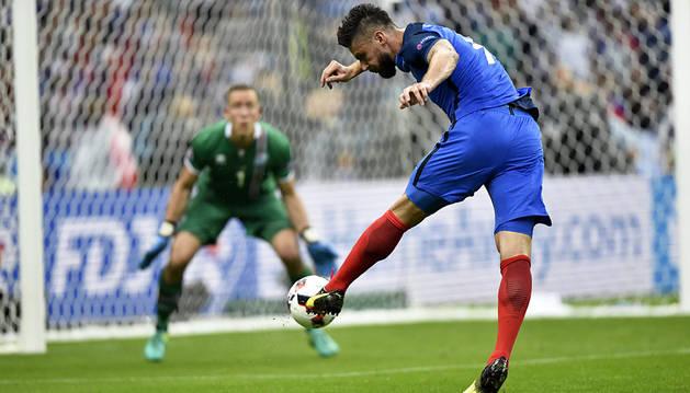 Francia destroza el sueño islandés (5-2)