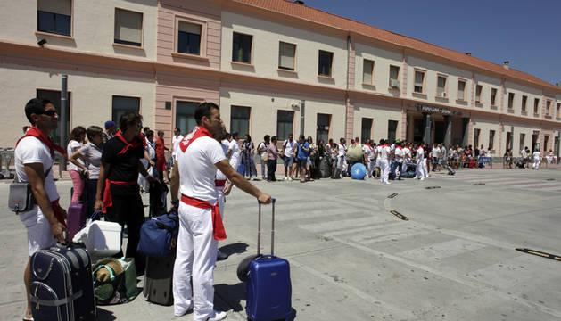 Renfe ofrecerá 116.000 plazas de tren para viajar a los Sanfermines