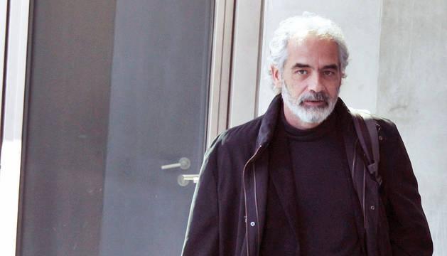 Iulen Urbiola, responsable de Buenas Prácticas y Anticorrupción del Gobierno foral, cuando compareció en el Parlamento el pasado abril.