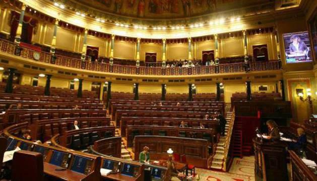 Congreso de los diputados durante una legislatura anterior.