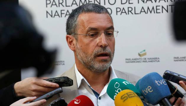 El vicepresidente de Derechos Sociales del Gobierno de Navarra, Miguel Laparra.