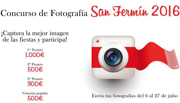 Cartel del Concurso Fotográfico de San Fermín