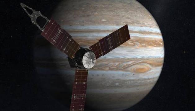 Juno entra en la órbita de Júpiter tras casi cinco años de viaje