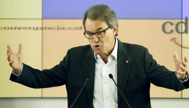 El expresidente de la Generalitat Artur Mas.