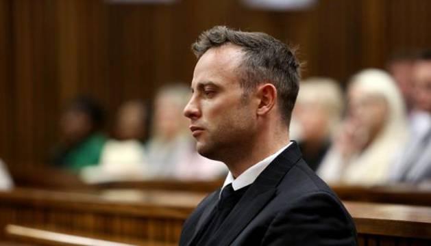 Oscar Pistorius, durante el juicio.