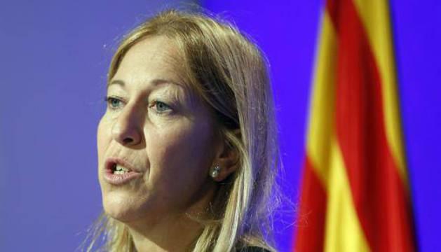 Neus Munté, consellera de Presidencia y portavoz del Govern.